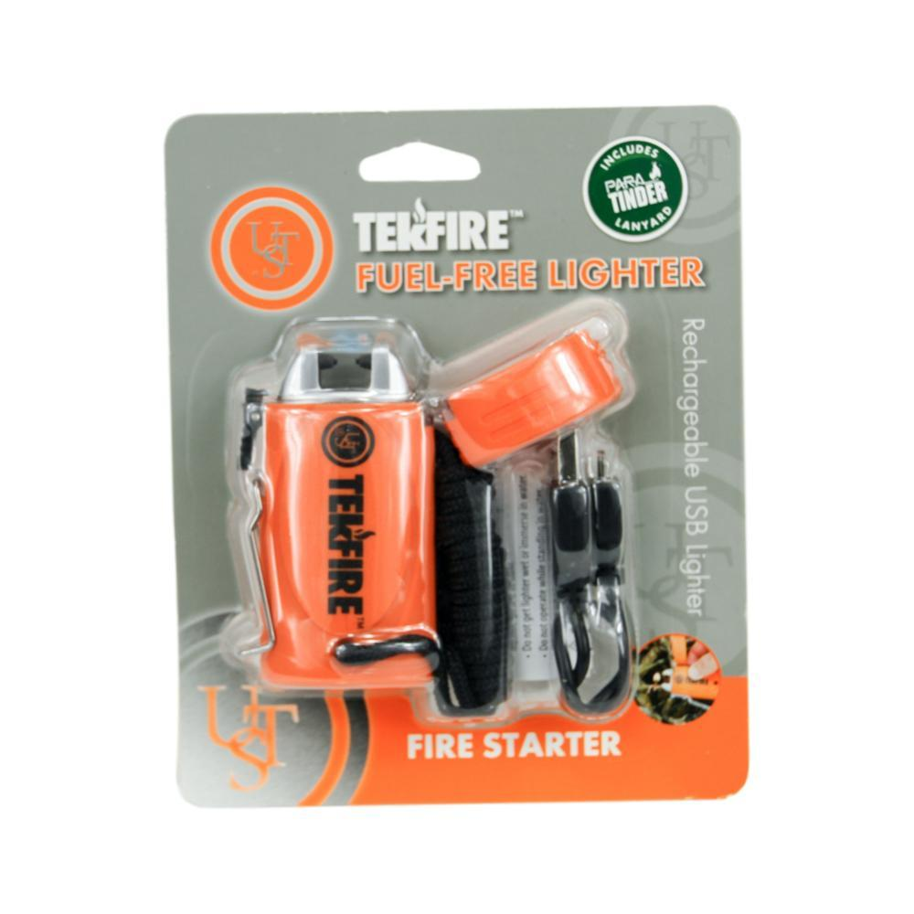 Ultimate Survival Technologies TekFire PRO Fuel-Free Lighter ORANGE