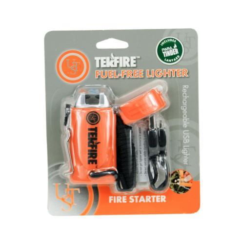 Ultimate Survival Technologies TekFire PRO Fuel-Free Lighter Orange