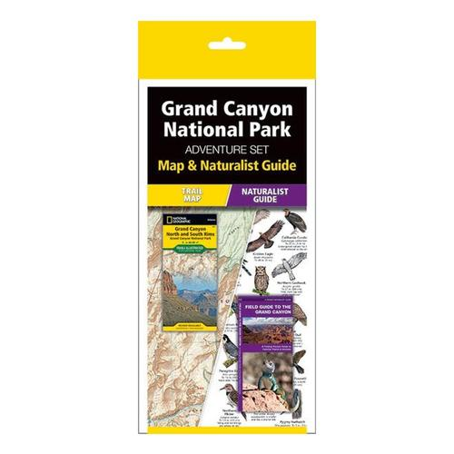 Grand Canyon Adventure Set: Map & Naturalist Guide by Waterford Press and National Geographic Maps Map_guide