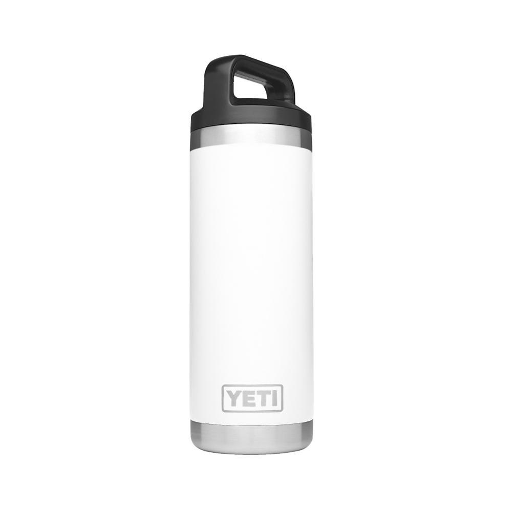 YETI Rambler 18oz Bottle WHITE