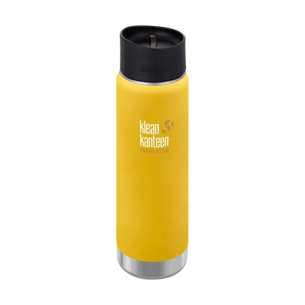 Klean Kanteen Wide Insulated Bottle w/Cafe Cap - 20oz LEMON_CURRY