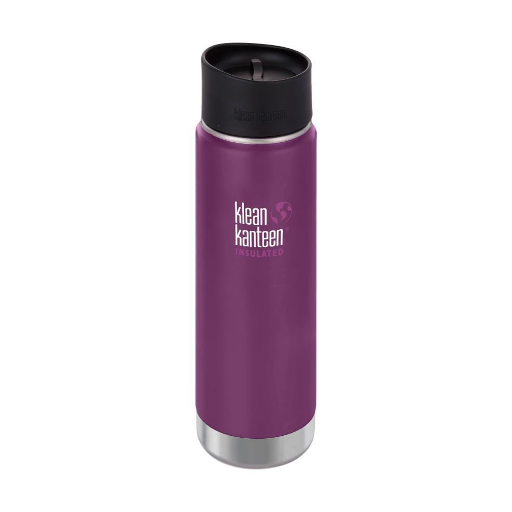 Klean Kanteen Wide Insulated Bottle w/Cafe Cap - 20oz WINTER_PLUM