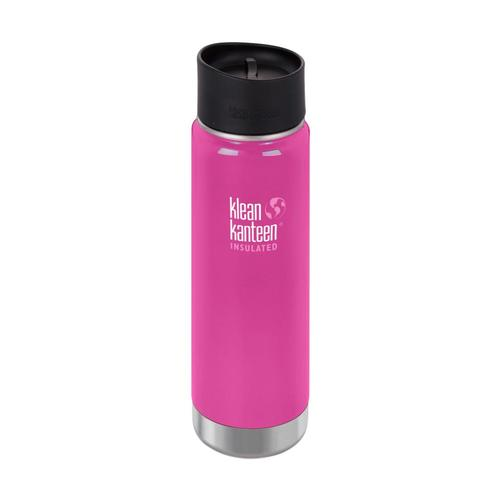 Klean Kanteen Wide Insulated Bottle w/Cafe Cap - 20oz Wild_orchid