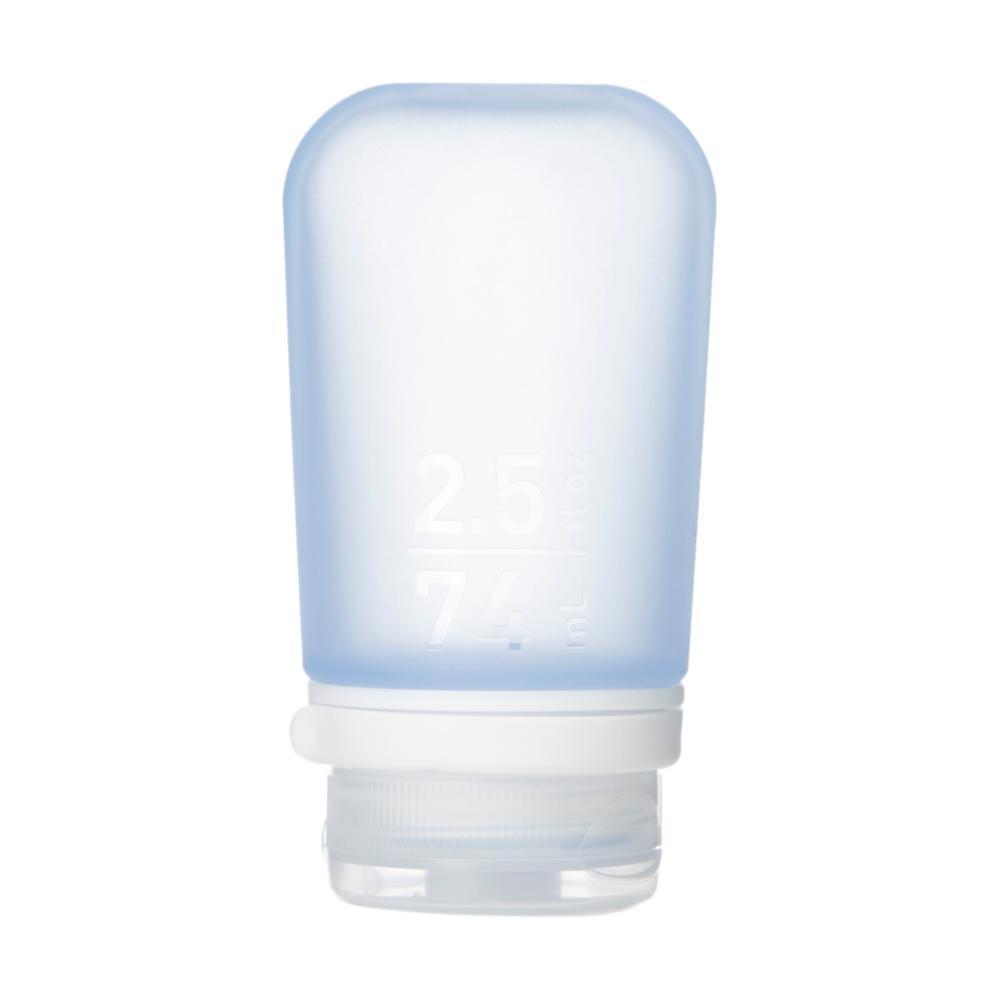 humangear GoToob+ 2.5oz Silicone Bottle BLUE