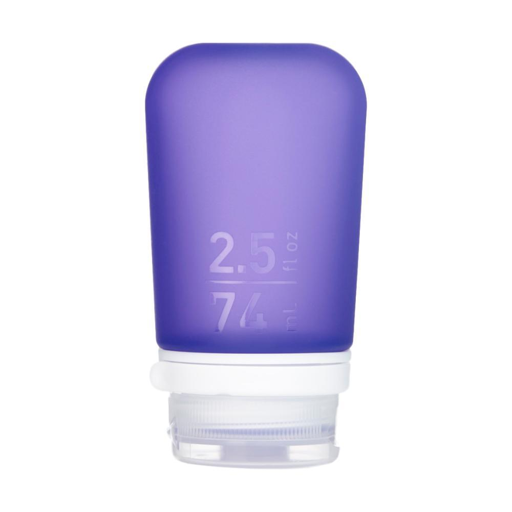 humangear GoToob+ 2.5oz Silicone Bottle PURPLE