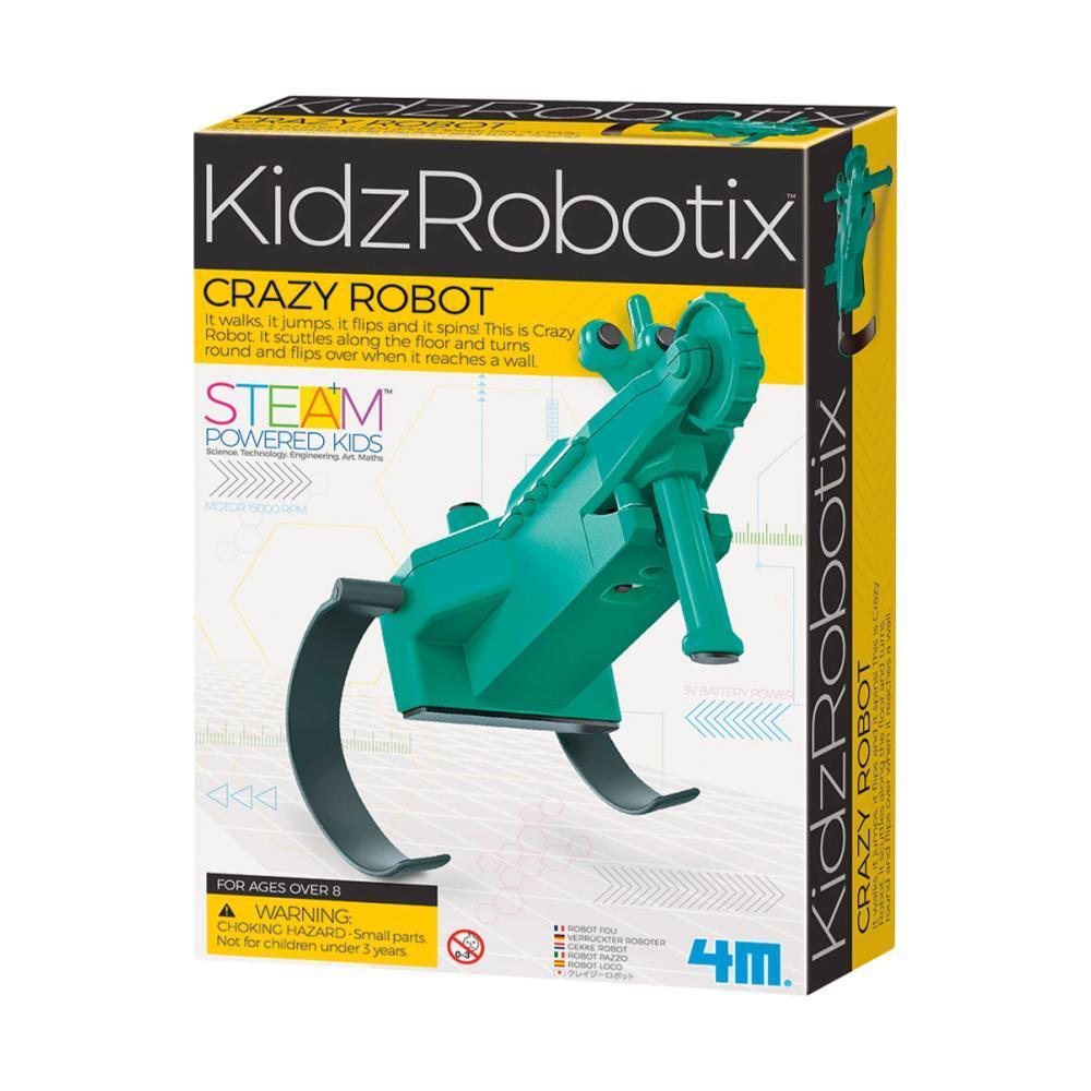 Toysmith Kidz Robotix Crazy Robot