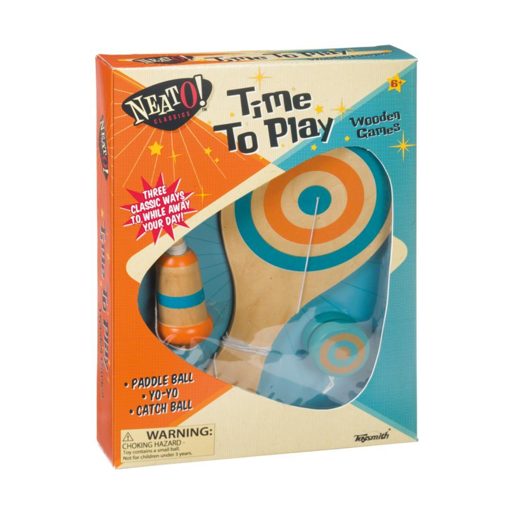 Toysmith Time To Play Wooden Games