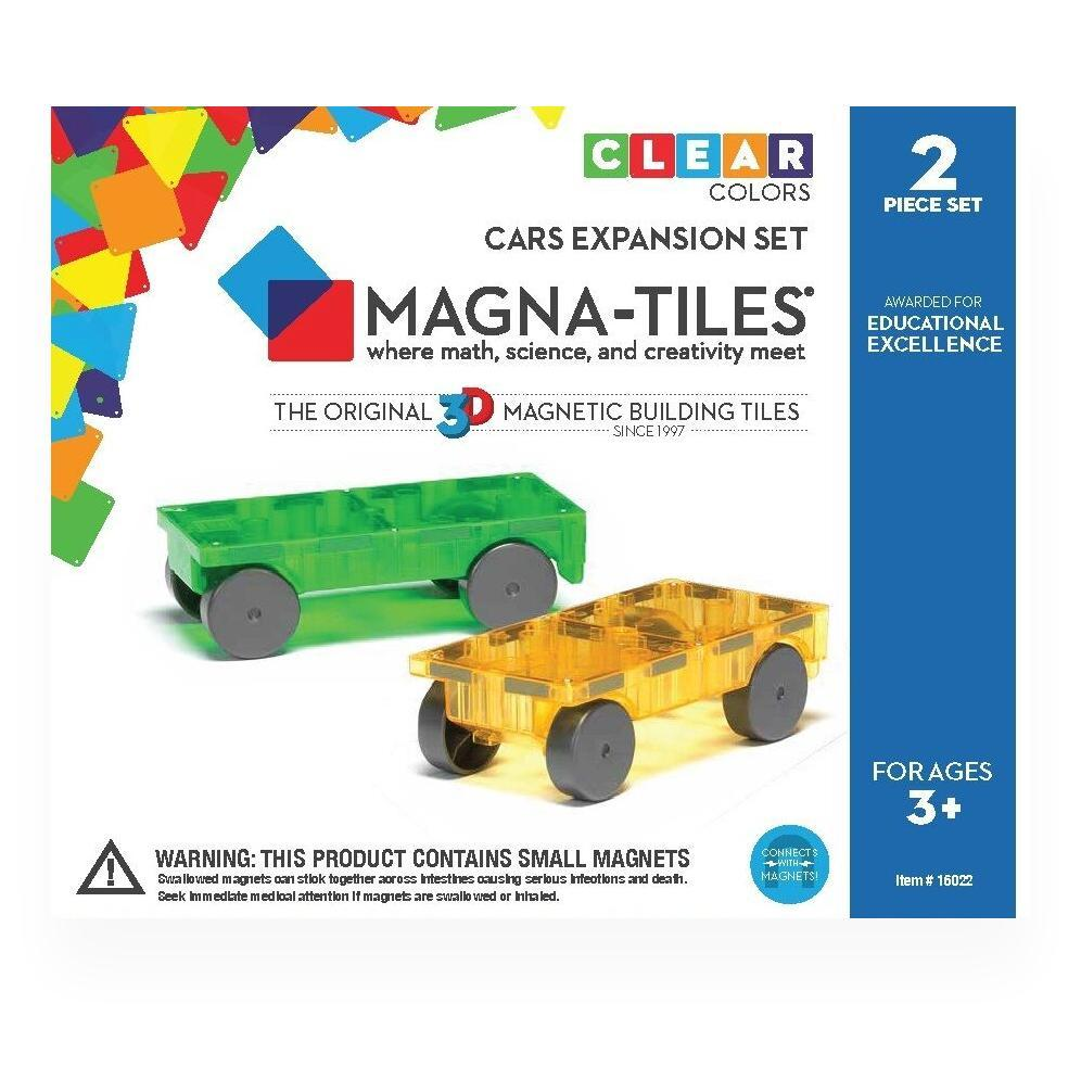 Magna-Tiles Cars 2 Piece Expansion Set SET_OF_2