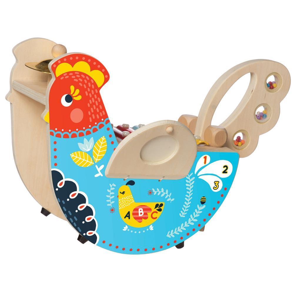 The Manhattan Toy Company Rocking Musical Chicken