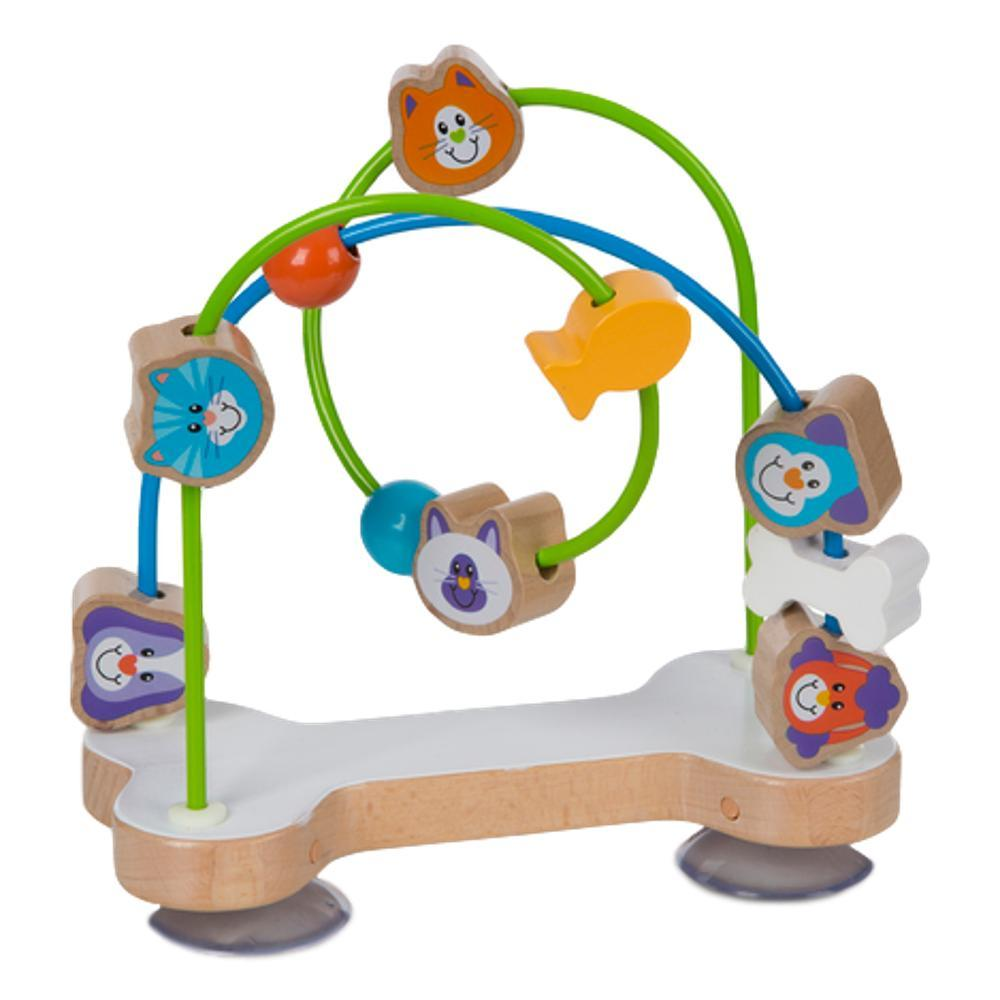 Melissa & Doug First Play Pets Wooden Bead Maze