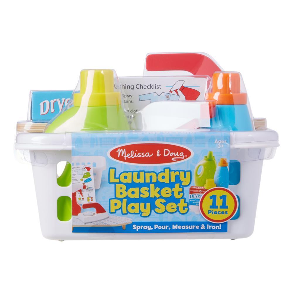 Melissa & Doug Laundry Basket Play Set