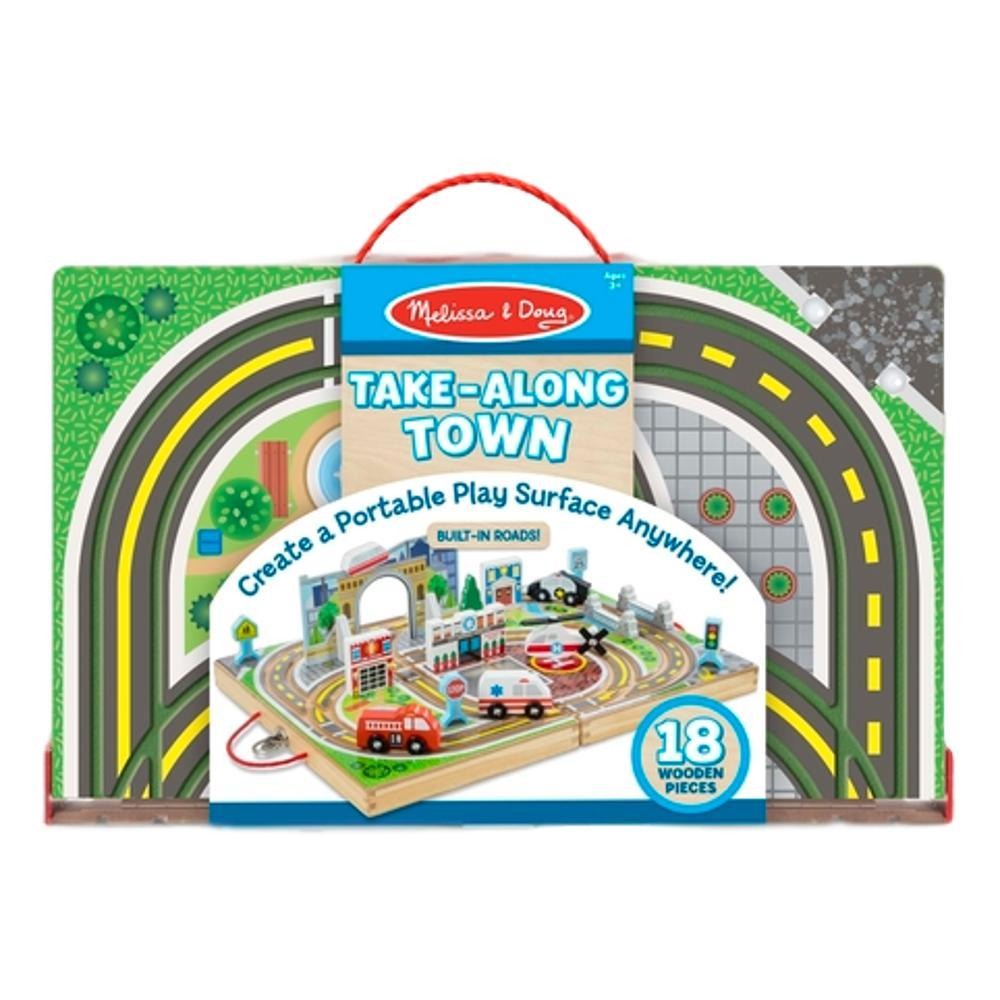 Melissa & Doug Take- Along Town Set