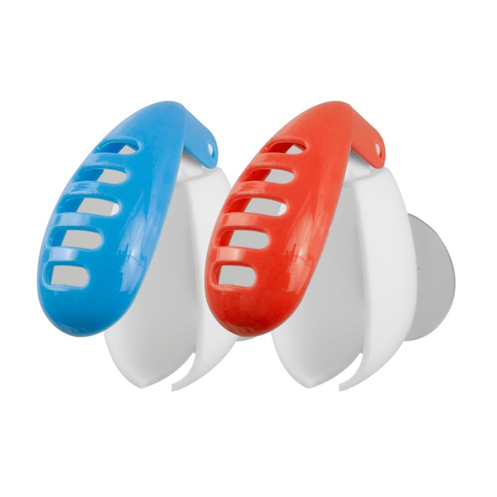 Travelon Set of 2 Anti-Bacterial Toothbrush Covers BLUERED