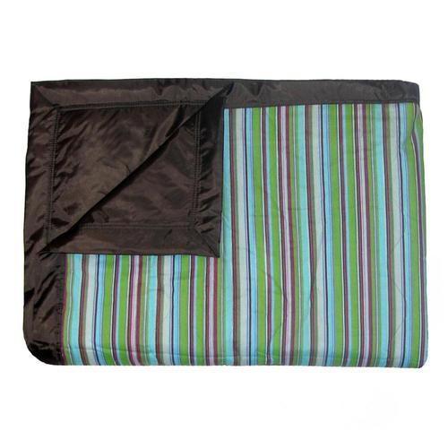 Tuffo Earth Stripe Water Resistant Outdoor Blanket Earthstr