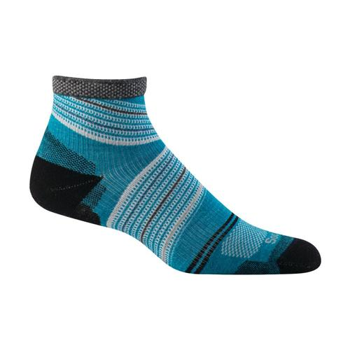 Sockwell Women's Pacer Quarter Firm Compression Socks Turquoi_680
