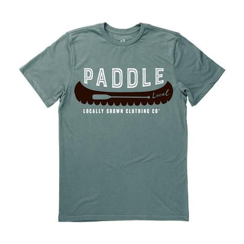 Locally Grown Unisex Canoe Local Tee Forest