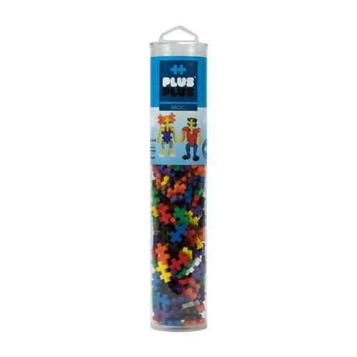 Plus-Plus Open Play Tube - 240 Piece Basic Mix