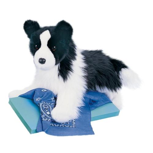 Douglas Toys Chase Border Collie Stuffed Animal