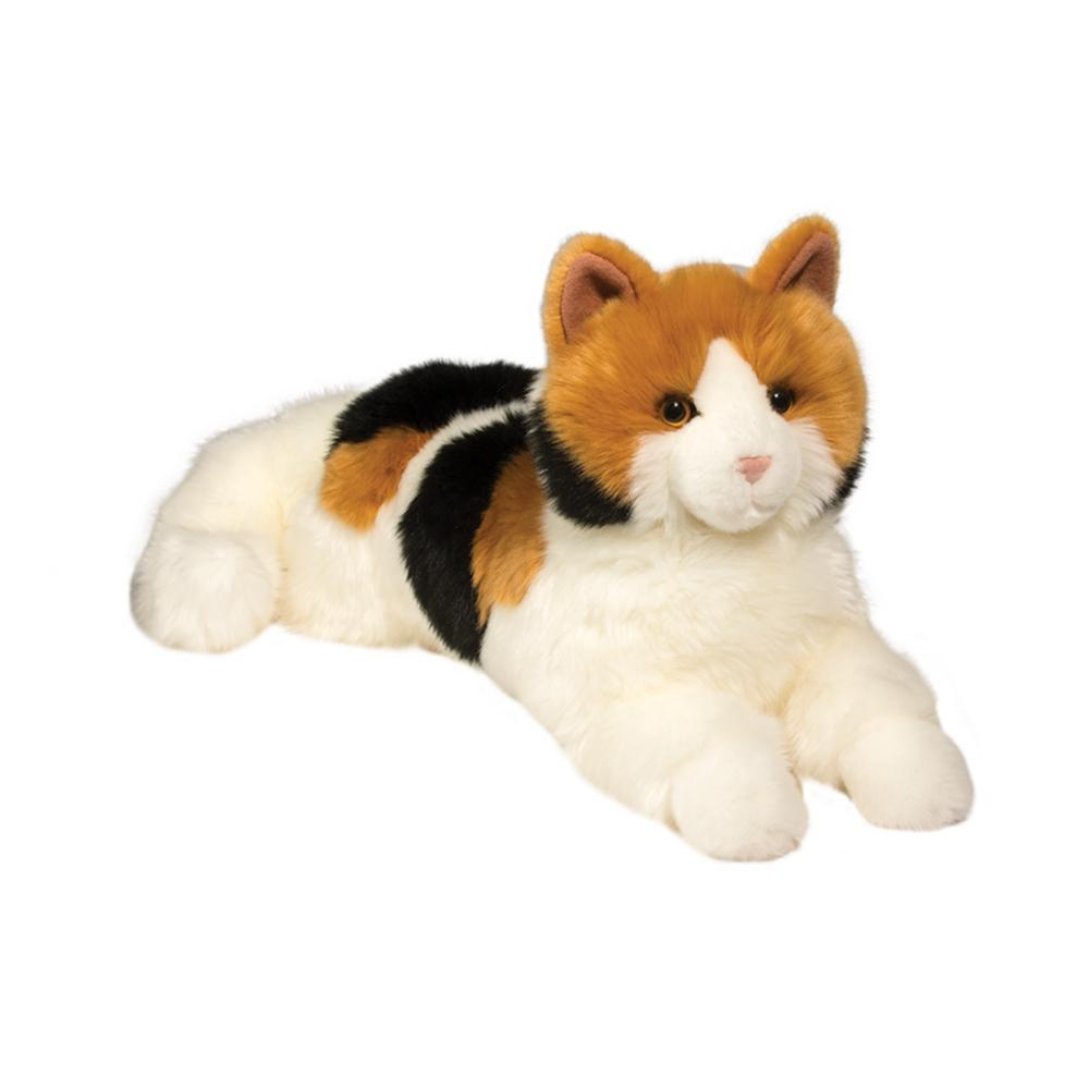 Douglas Toys Puzzle Calico Cat Stuffed Animal