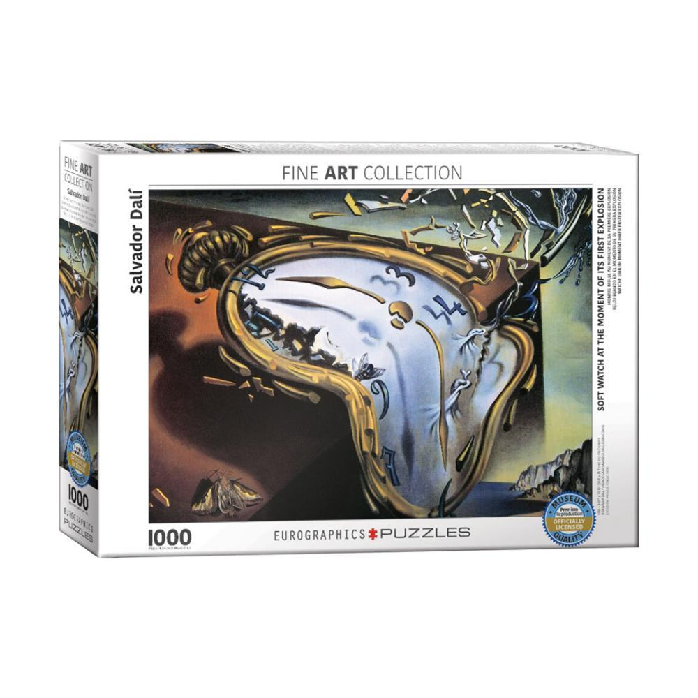 Eurographics Soft Watch At Moment Of First Explosion By Salvador Dali 1, 000- Piece Jigsaw Puzzle