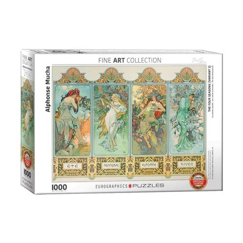 EuroGraphics The Four Seasons (Variant 3) by Alphonse Mucha 1,000-Piece Jigsaw Puzzle