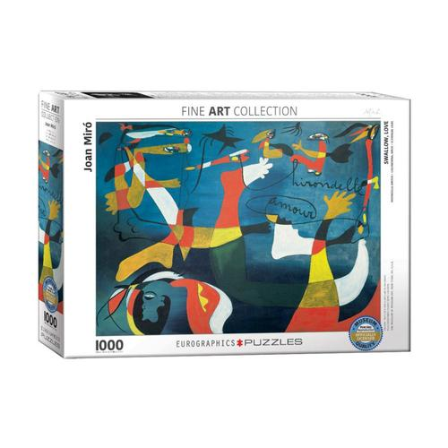 EuroGraphics Swallow Love by Joan Miro 1000-Piece Jigsaw Puzzle