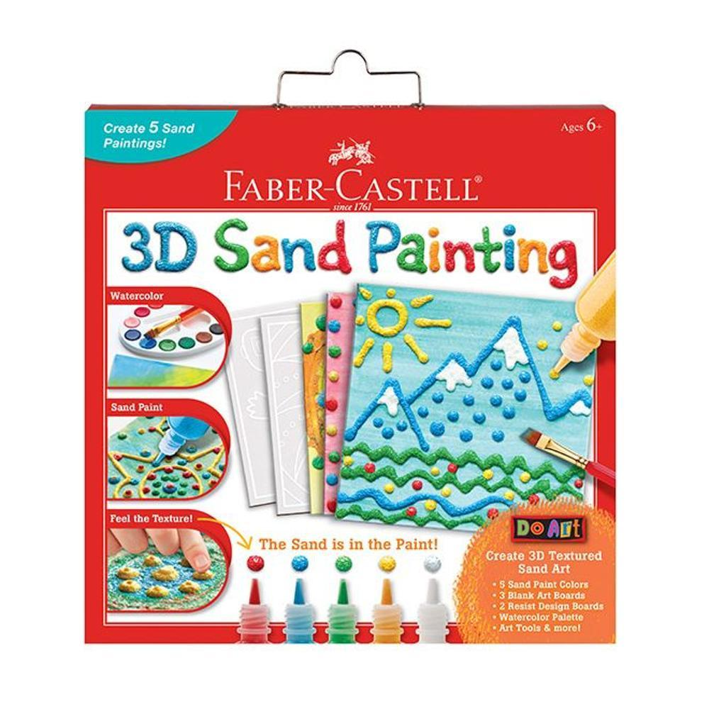 Faber- Castell Do Art 3d Sand Painting