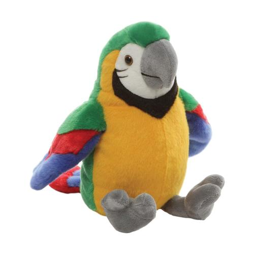 Gund Tweetums Parrot 9in Stuffed Animal