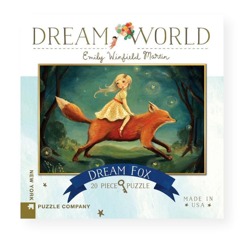 New York Puzzle Company Dream World Dream Fox Jigsaw Puzzle