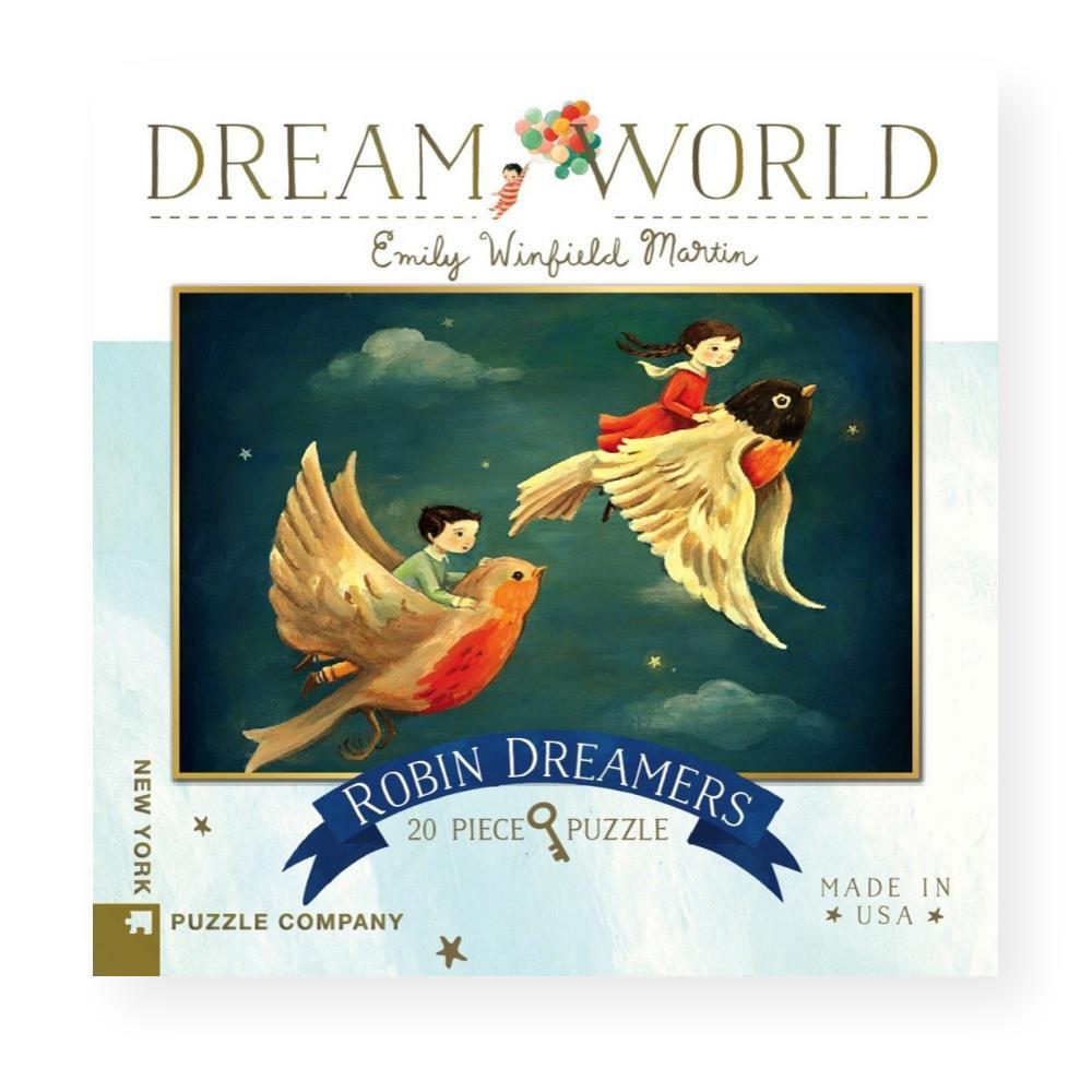 New York Puzzle Company Dream World Robin Dreamers Jigsaw Puzzle