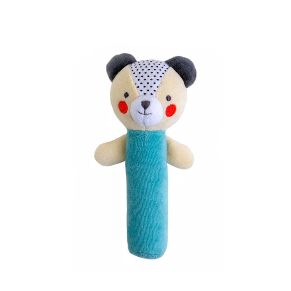 Petit Collage Bear Organic Squeaker