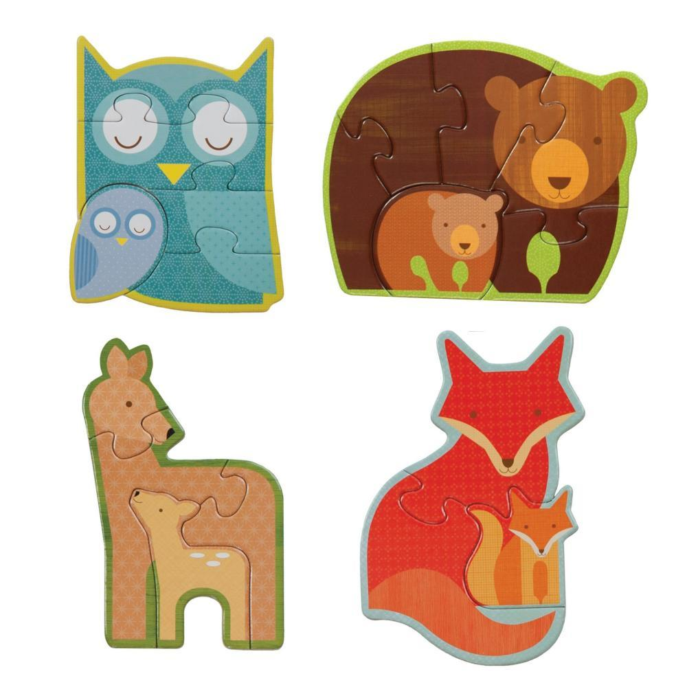 Petit Collage Forest Babies Toddler And Preschool Jigsaw Puzzle
