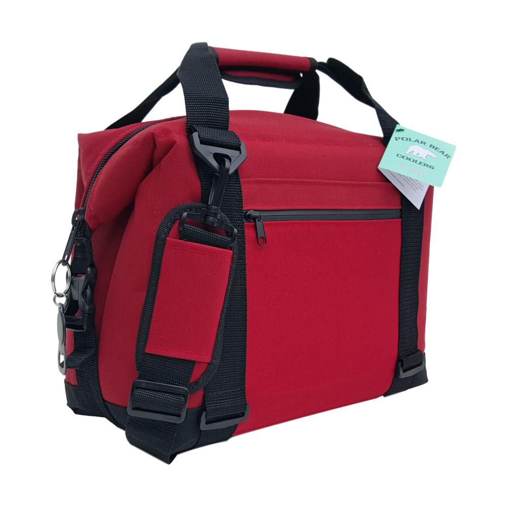 Polar Bear 12 Pack Nylon Soft Cooler RED