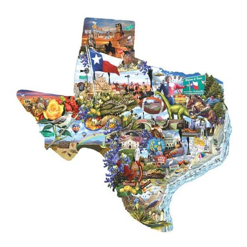 SunsOut, Inc. Welcome to Texas! 1000-Piece Jigsaw Puzzle 1000_piece