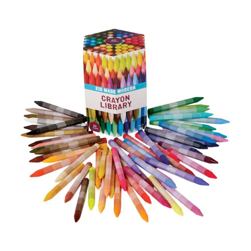 Kid Made Modern Crayon Library (Set Of 60)