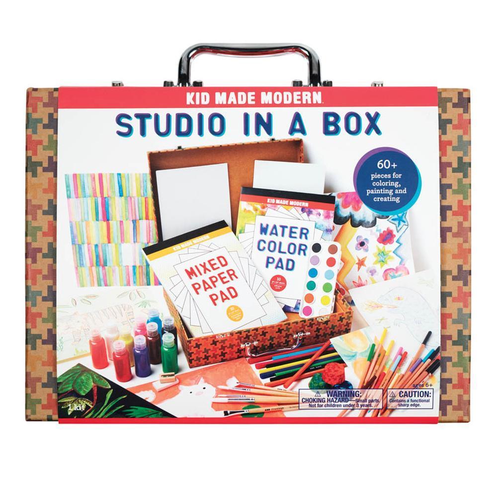 Kid Made Modern Studio In A Box Art Supply Kit
