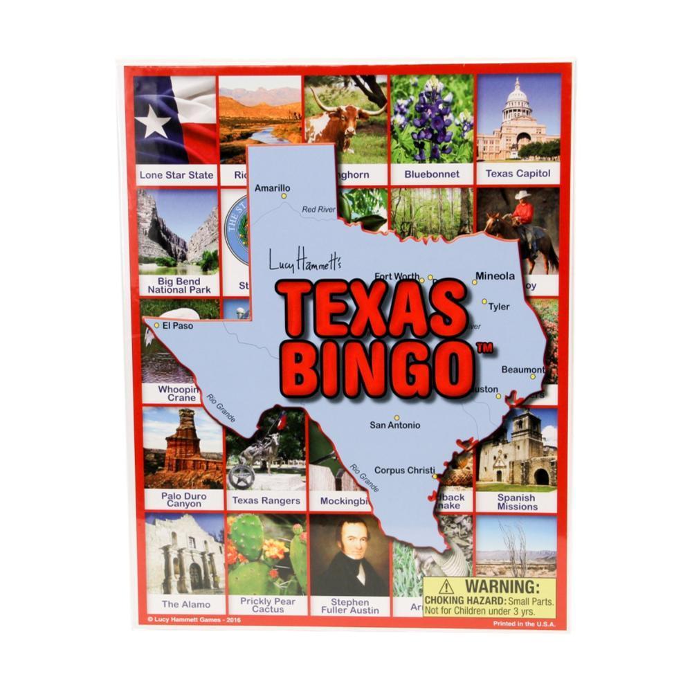 Lucy Hammett Games Texas Bingo 1077