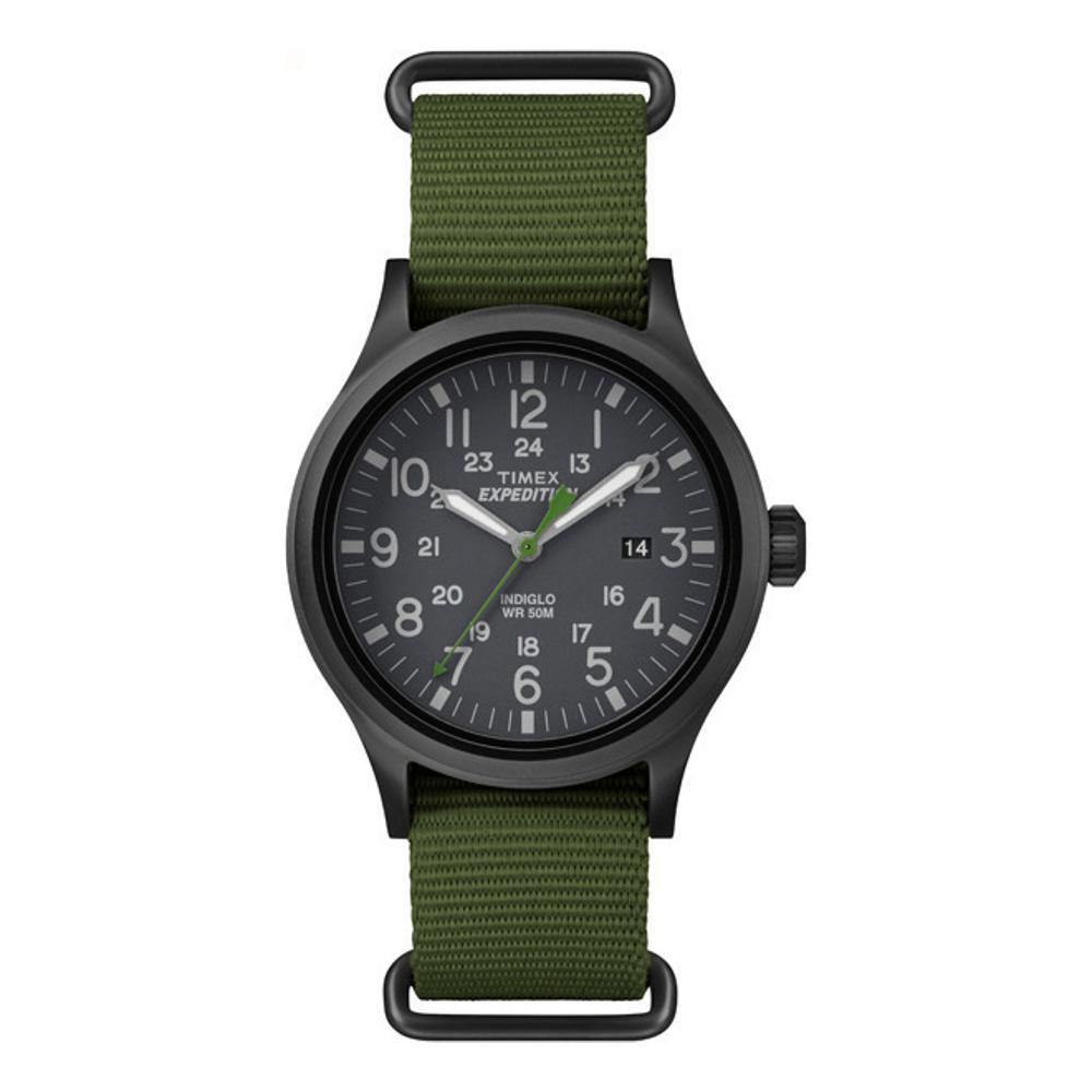 Timex Expedition Scout NATO Strap Watch GREEN