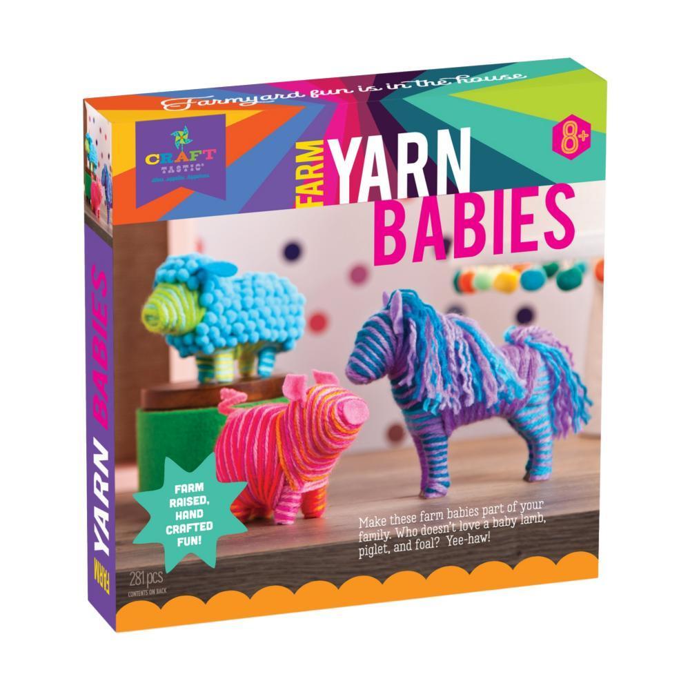 Craft- Tastic Farm Yarn Babies Kit
