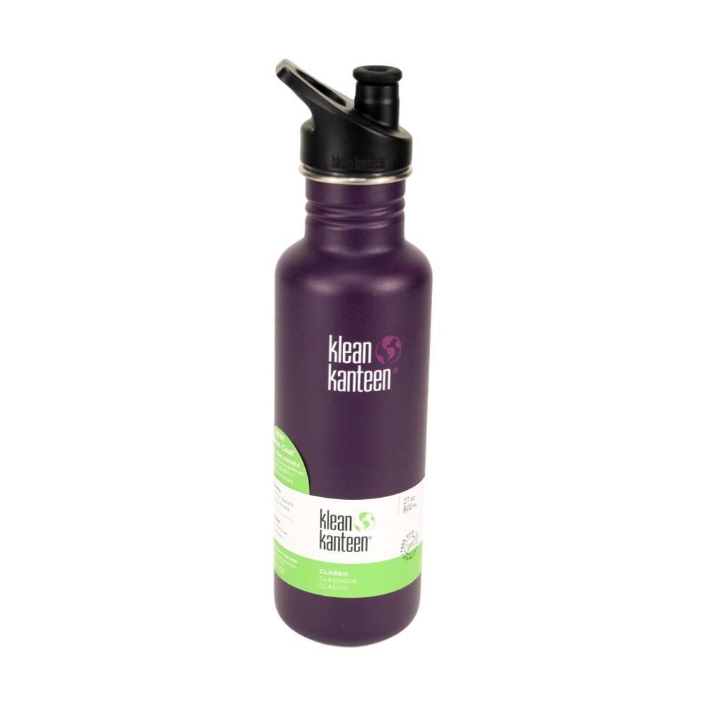 Klean Kanteen Classic Bottle w/Sport Cap 3.0 - 27oz WINTER_PLUM