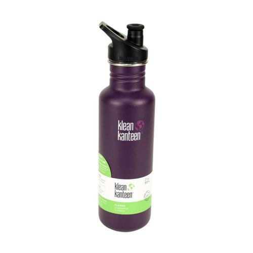 Klean Kanteen Classic Bottle w/Sport Cap 3.0 - 27oz Winter_plum