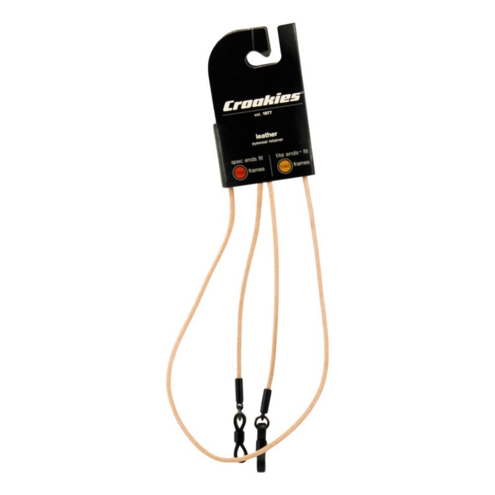Croakies Premium Leather Spec Cords Eyewear Retainers TAN