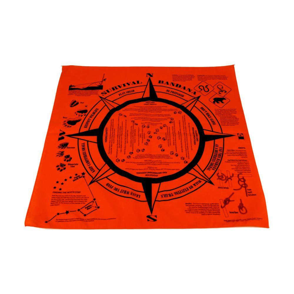 The Printed Image Survival Bandanna ORANGE