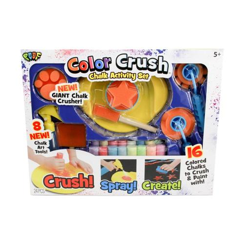 Poof Color Rush Chalk Activity Set