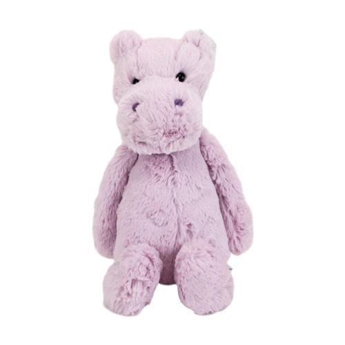 Jellycat Bashful Lilac Hippo Stuffed Animal Medium