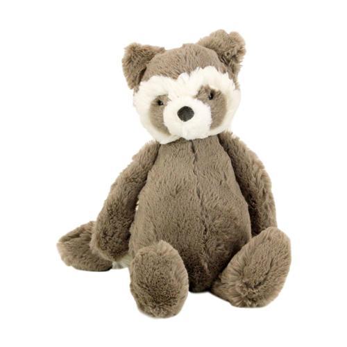 Jellycat Bashful Raccoon Stuffed Animal Medium