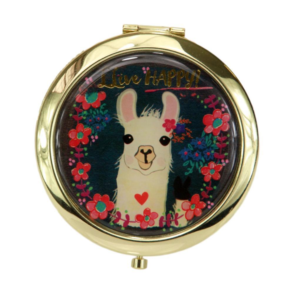 Natural Life Llive Happy Compact Mirror
