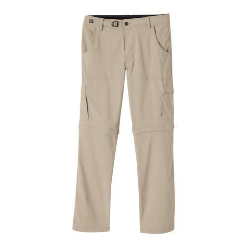 prAna Men's Stretch Zion Convertible Pants - 32in inseam Dkkhaki