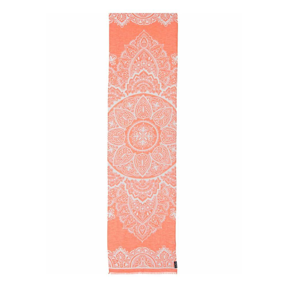 V. Fraas Moroccan Scroll Scarf ORANGE_260