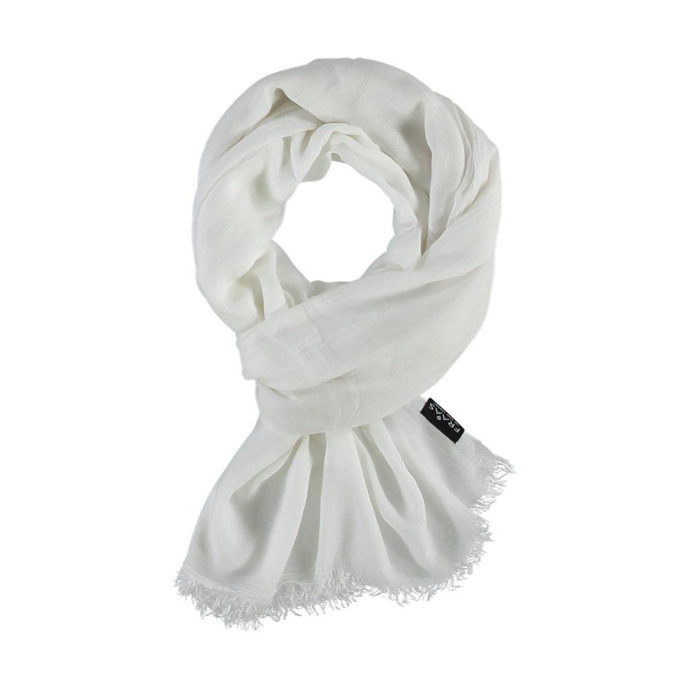 V. Fraas Solid Scarf WHITE_010